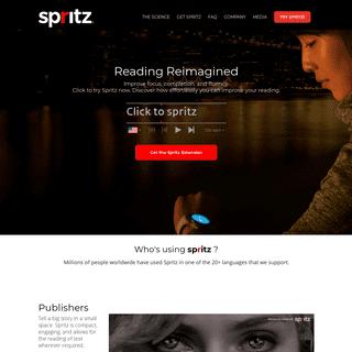 A complete backup of spritzinc.com