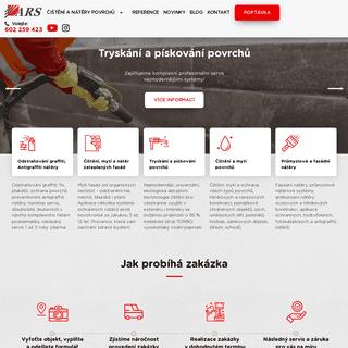 Ověřený čisticí a ochranný systém povrchů a staveb - ARS