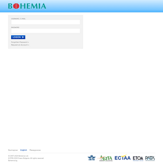 ArchiveBay.com - internationaltravelgroup.net - Bohemia IMS - Information Management and Reservation System - Bohemia Travel Agency - Sofia, Bulgaria