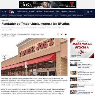 Fundador de Trader Joe's, muere a los 89 años – Telemundo San Diego (20)
