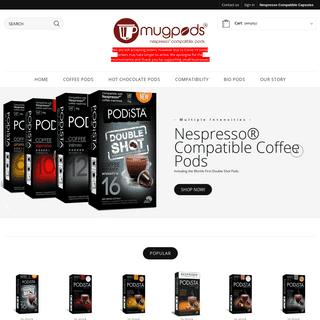 Nespresso Compatible Coffee & Hot Chocolate - mugpods