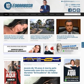Blog do Leo Barbosa - Notícias de Utinga e Região
