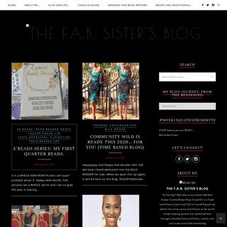 ArchiveBay.com - eziaha.com - The F.A.B. Sister's Blog - Making Jesus Red Carpet Famous!!