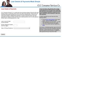 CLC Consumer Services Co
