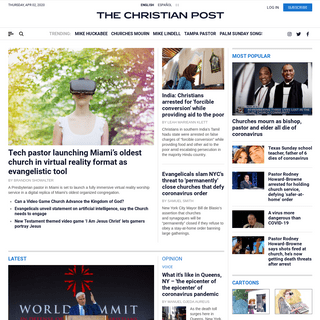 Breaking Christian News Headlines - The Christian Post