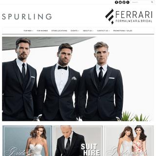 Spurling - Ferrari - Formalwear & Bridal
