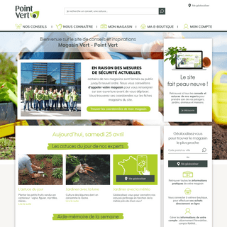 Jardinerie & animalerie, magasin de jardinage & outils bricolage - Magasin Vert - Point Vert
