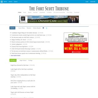 ArchiveBay.com - fstribune.com - Fort Scott Tribune