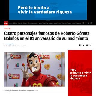 ArchiveBay.com - cnnespanol.cnn.com/2020/02/21/cuatro-personajes-famosos-de-roberto-gomez-bolanos-en-el-91-aniversario-de-su-nacimiento/ - Cuatro personajes famosos de Roberto Gómez Bolaños en el 91 aniversario de su nacimiento - CNN