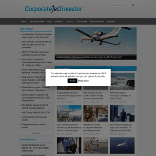 Corporate Jet Investor - Business aviation insight