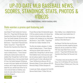 ArchiveBay.com - instantdegourmandise.com - Up-To-Date MLB Baseball News, Scores, Standings, Stats, Photos & Videos – Major League Baseball, Fantasy Baseball News