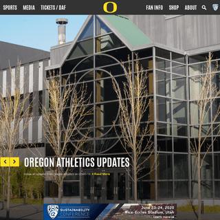University of Oregon Athletics - Official Athletics Website