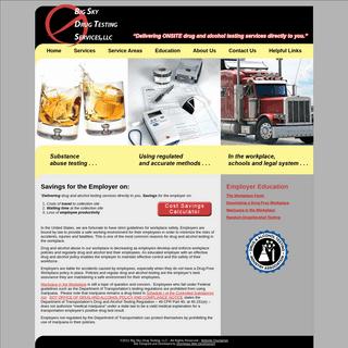 ArchiveBay.com - bigskydrugtesting.org - Onsite Drug and Alcohol Testing - Big Sky Drug Testing, LLC