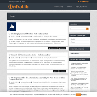 infraLib - IT Infrastructure Library