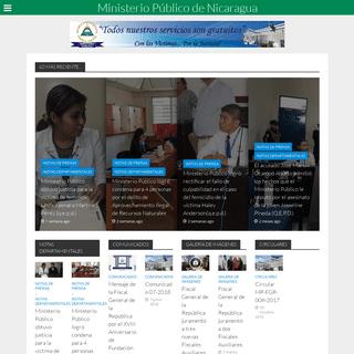 ArchiveBay.com - ministeriopublico.gob.ni - Sitio Web del Ministerio Público de la República de Nicaragua