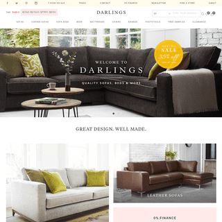 Leather & Fabric Designer Sofas - Darlings of Chelsea