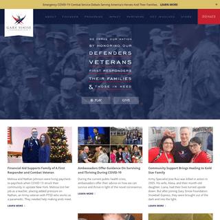 Home - Gary Sinise Foundation