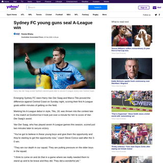 Sydney FC young guns seal A-League win