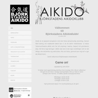 Björkstadens Aikidoklubb Umeå
