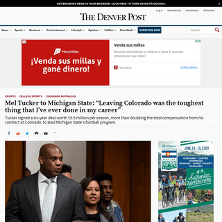 ArchiveBay.com - www.denverpost.com/2020/02/12/mel-tucker-to-michigan-state-news-conference/ - Mel Tucker to Michigan State- -This is certainly a dream come true.-