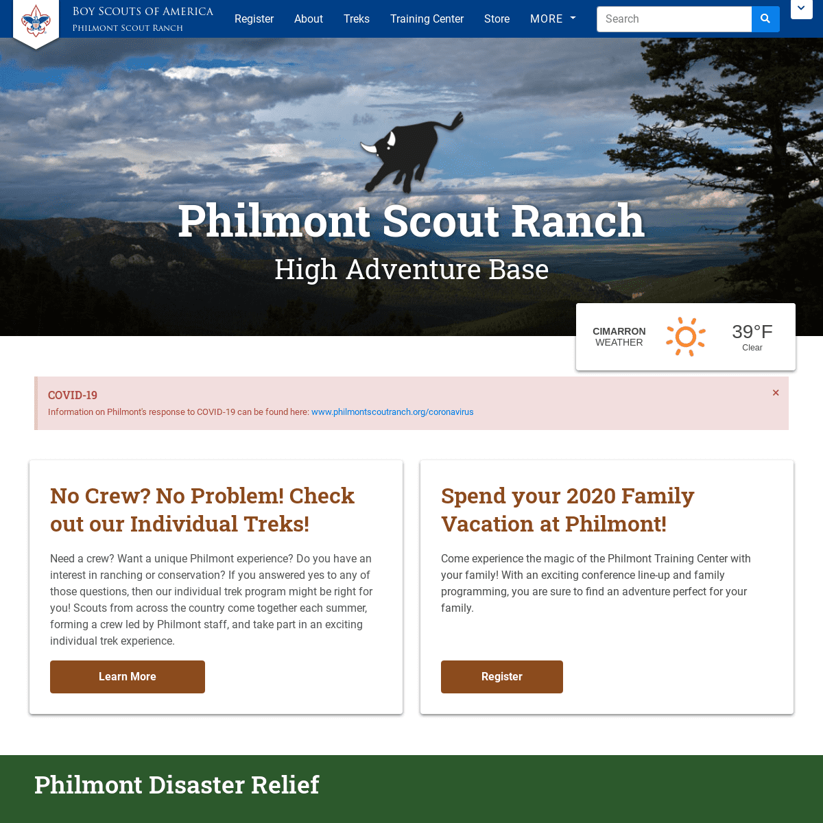 Home - Philmont Scout Ranch