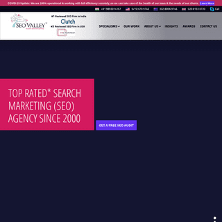 Best SEO Services Company in India, Top SEO Agency, Search Marketing - SEOValley™