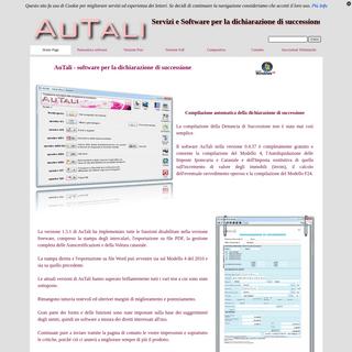 Software per la Dichiarazione di Successione - AuTali