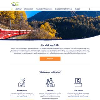 Home - Eurail Group G.I.E.