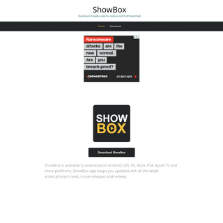 ShowBox – Download ShowBox App for Android & iOS (iPhone-iPad)