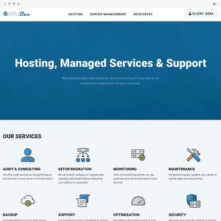 VirtuBox - VPS Hosting, Managed Services & Support