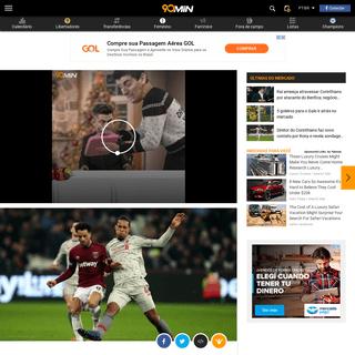 West Ham x Liverpool - Prováveis escalações, onde assistir, horário e local - 90min