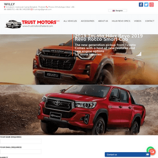Toyota Hilux Revo Export 2019-2020 Rocco Diesel Double-Smart-Single Cab 4x4 For Sale - Thailand's Top Exporter of Toyota Hilux