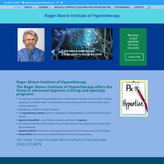 Roger Moore Institute of Hypnotherapy