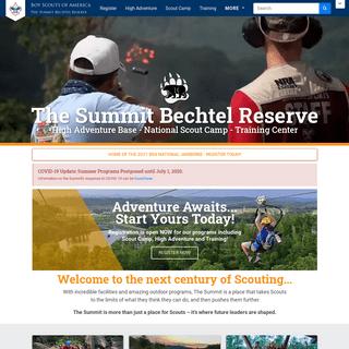 Home - The Summit Bechtel Reserve