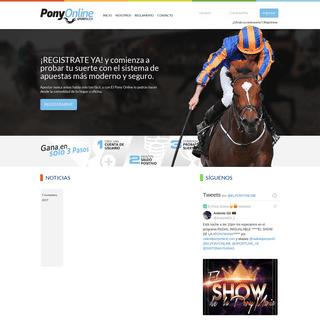 El Pony Online - Tu sitio de apuestas Online!