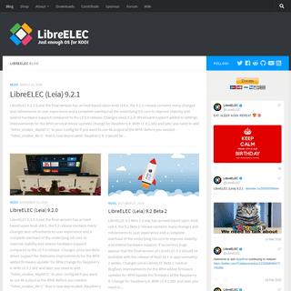 LibreELEC – Just enough OS for KODI