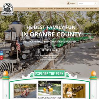 Irvine Park Railroad 1 Irvine Park Rd Orange, California 92869