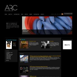 Home - ARC Magazine - Contemporary Caribbean Visual Art & Culture