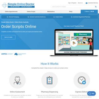 Online Doctor Service - Simple Online Doctor