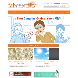 Beauty, Fashion, Lifestyle Over Age 50 – FabOverFifty.com