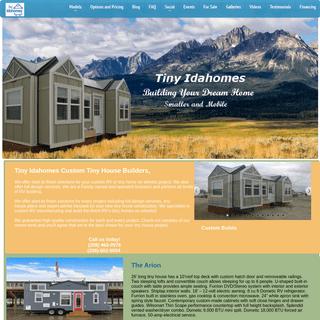 Tiny Idahomes Tiny House Builders - Tiny House on Wheels - RVIA - THOW