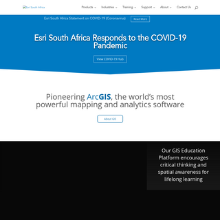 ArchiveBay.com - esri-southafrica.com - Esri South Africa - Applying The Science of Where - Pioneering ArcGIS