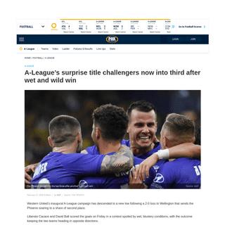 A-League, live, news, Wellington Phoenix v Western United, rivalry, Mark Rudan, Steven Lustica - Fox Sports