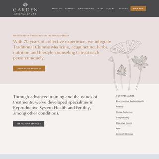 Garden Acupuncture