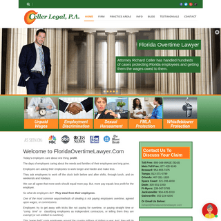 ArchiveBay.com - floridaovertimelawyer.com - Employment Lawyer in Davie and Fort Lauderdale, Florida - Richard Celler Legal, P.A.