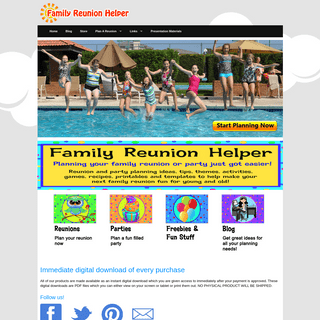 Family Reunion Helper - family reunion and party ideas