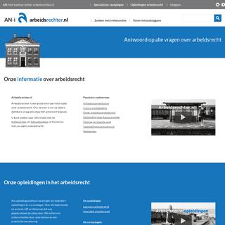 ArchiveBay.com - arbeidsrechter.nl - ARBEIDSRECHTER - antwoord op alle vragen over arbeidsrecht