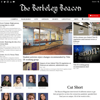 ArchiveBay.com - berkeleybeacon.com - The Berkeley Beacon - Emerson College's student newspaper