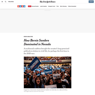 ArchiveBay.com - www.nytimes.com/2020/02/22/us/politics/how-sanders-won-nevada.html - How Bernie Sanders Dominated in Nevada - The New York Times