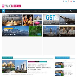Vivace Panorama - Hindi Educational Portal